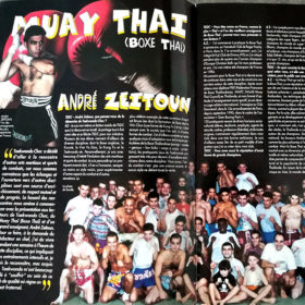 magazine muay thai André Zeitoun