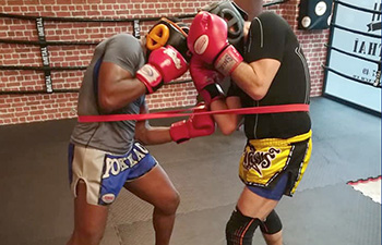 boxe thai sparring