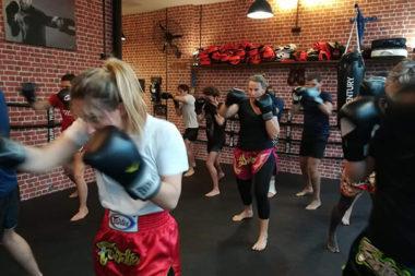 programmes cours boxe thai Team Zeitoun
