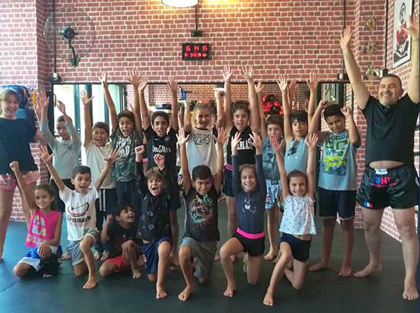 boxe thai enfant